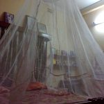 Sleepwell Foldable Circular Mediacted Mosquito Bed Net