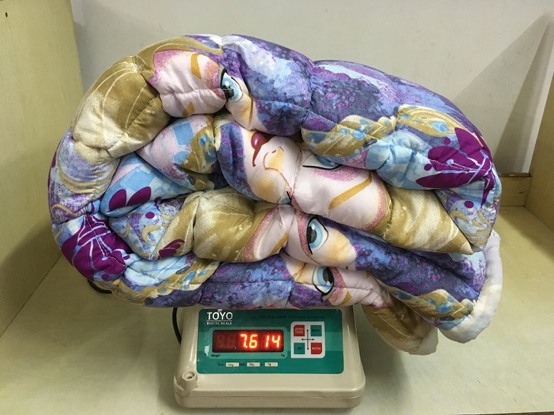 SLEEP WELL Weighted Comforter for Winter and AC use
